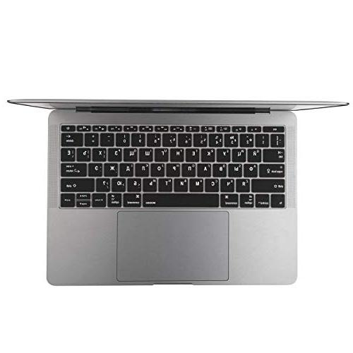 MOSISO Cover MacBook Pro 13 2017 A1708 Touch & Inch Russian/English Black