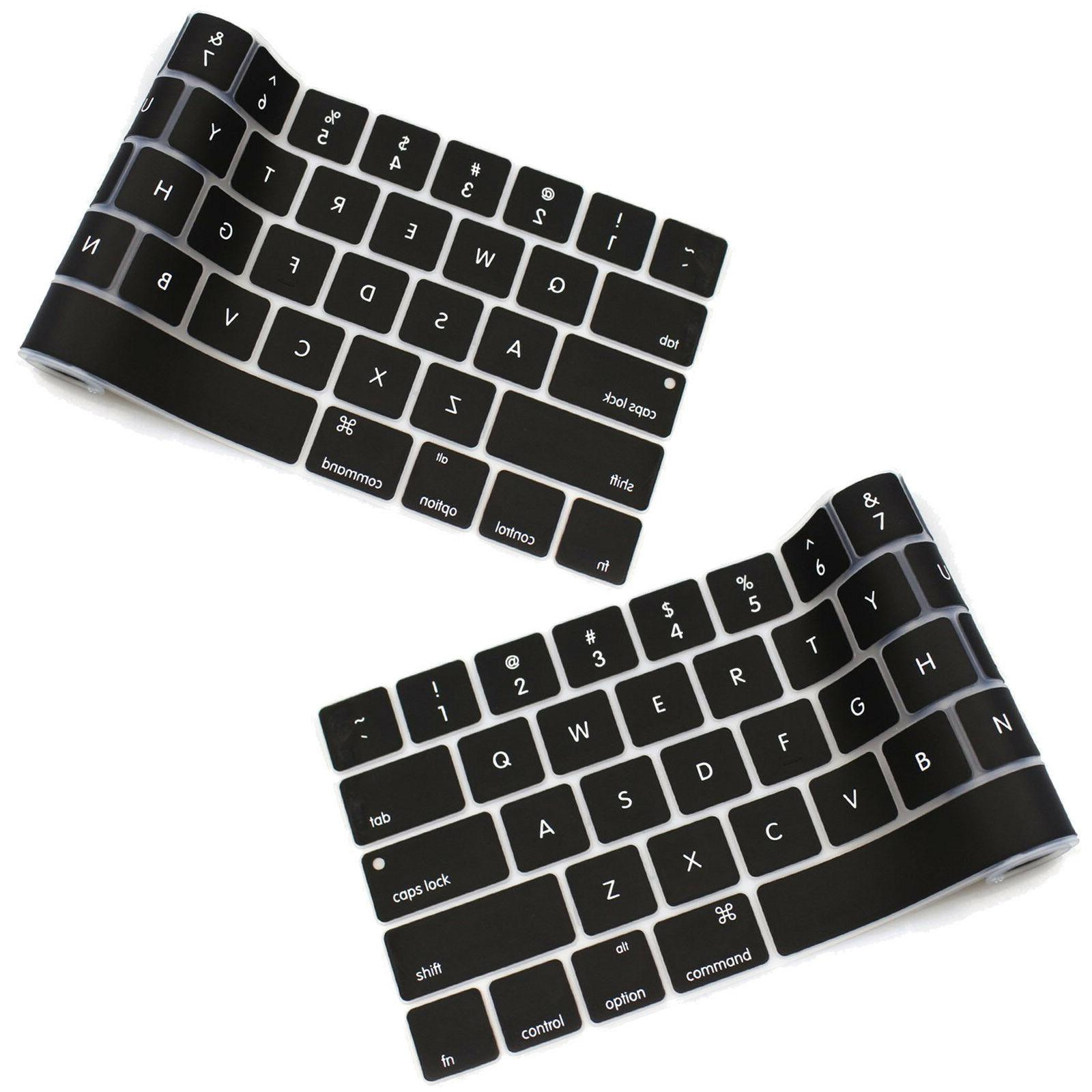 """US Keyboard Cover Protector For Macbook Pro 13.3"""" With/out T"""