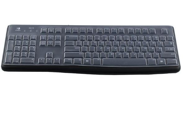 Keyboard Cover for Logitech MK 120 k120 MK120 Skin Silicone