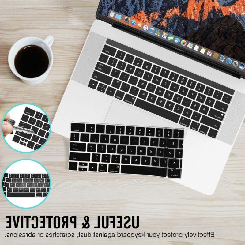 "NEW Laptop Keyboard Cover Pro 13/15"" With/NO Bar"