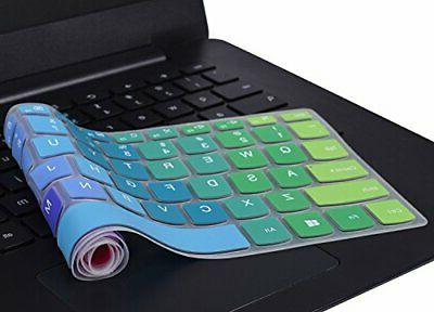 """Keyboard Cover 15.6"""" for 15 17.3 Rainbow"""