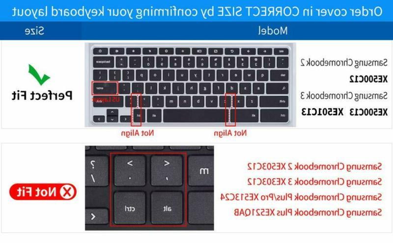CaseBuy Keyboard Cover Compatible Samsung 3 XE500