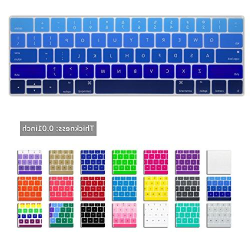 DHZ Keyboard Cover Silicone Skin New MacBook Pro 15 with USA Layout