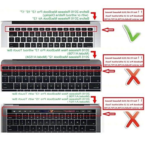 """DHZ Keyboard for MacBook Air 15"""" US Layout"""