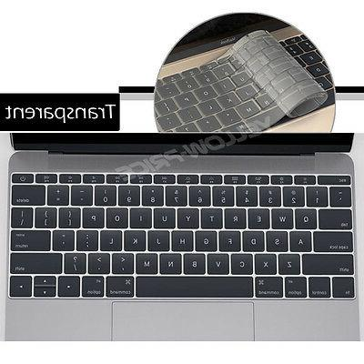 Transparent Clear Cover Silicone for MacBook Retina