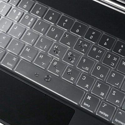 Keyboard Cover Skin Apple iPad Pro inch CASEDAO 2020 Magic