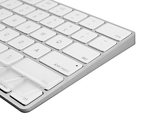 COOSKIN Cover for Apple Wireless Magic Keyboard Soft TPU 2015 Version