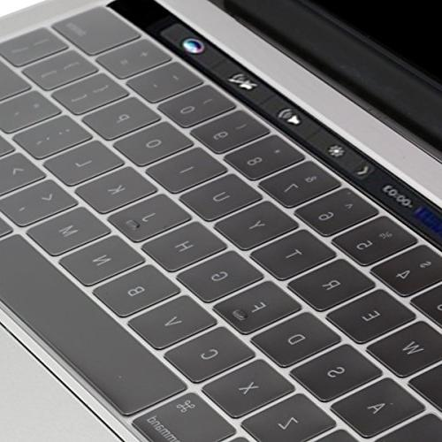Mosiso Keyboard for Touch Bar , Premium TPU Ultra Thin Transparent