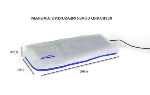 COMPUTER DUST Keyboard Dust Covers Size PC...
