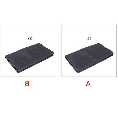 Keyboard Cover 61 & 88 Electronic Piano Dustproof Dustcover