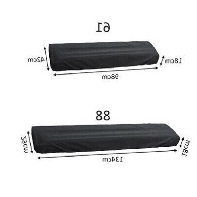 Keyboard Dust Cover For 61 & 88 Key Electronic Storage Dustcover