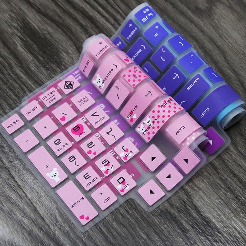 Keyboard High Skin Cover HP 15.6 inch PC