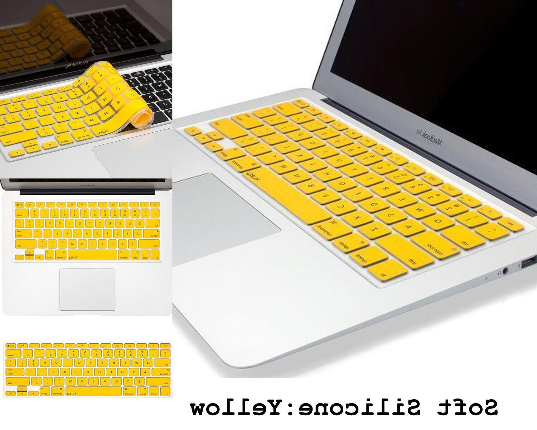 Kuzy Keyboard Laptop MacBook 17 &Air 13 Rubberized Fast Shipping