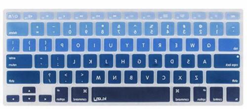 "Kuzy Keyboard Ombre Silicone MacBook 17"" NEW"