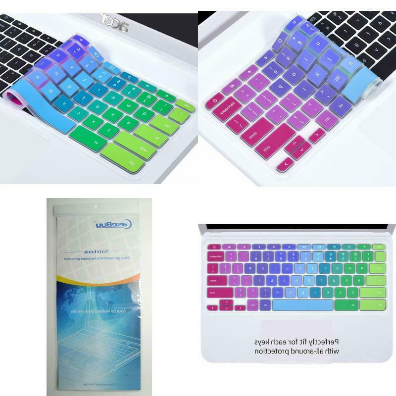 keyboard protector colorful silicone cover for acer