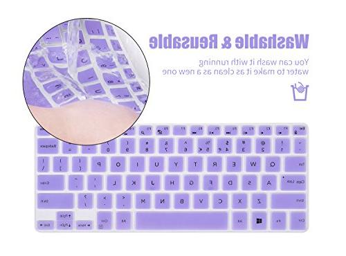 Keyboard Protector Cover Skin for Dell 7000 Series i7352 i7359, Inspiron 15 i7548, XPS 13-9343 9360