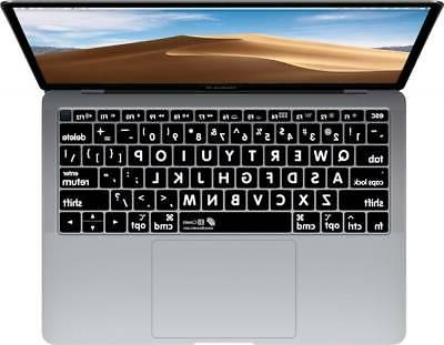 large type keyboard cover for applemacbookair 13