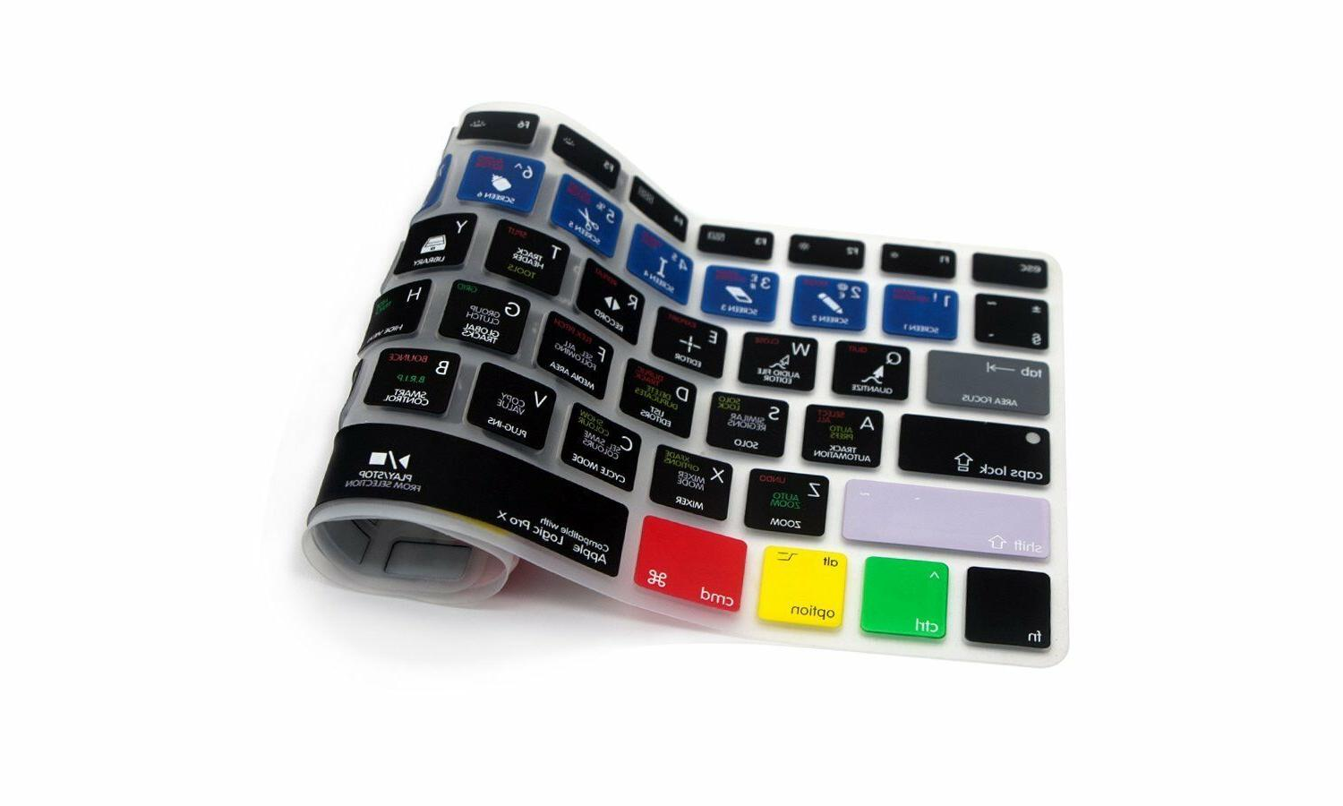 HRH Functional Hot Shortcut Silicone Keyboard Macbook