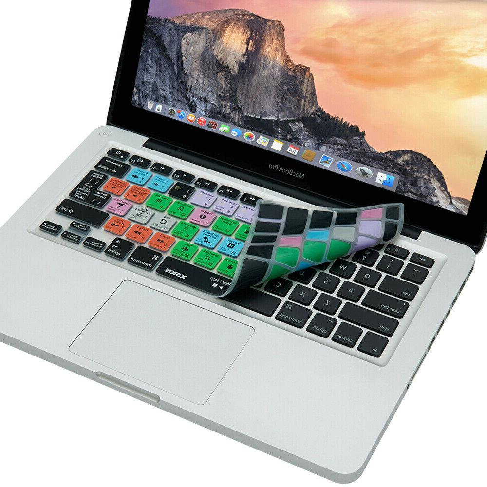 XSKN for X Keyboard Cover MacBook Pro 13 15 17 before