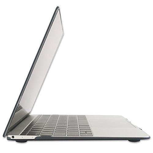 """Raidfox MacBook 12 2-in-1 Plastic Case and Silicone Keyboard Apple Mac 12"""" Frosted Matte"""