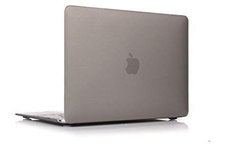 Raidfox 12 2-in-1 Case and Keyboard Cover for Mac Book Frosted Matte Grey