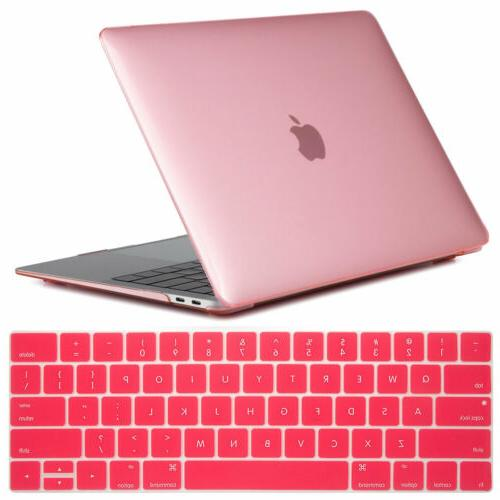 For Macbook Inch 2018 Rubberized Case Keyboard Cover