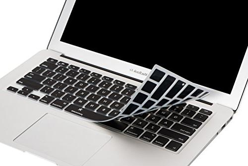 """Macbook Keyboard Cover inch, JOKHANG Silicone for MacBook Air 11.6"""" Models: A1370 - BLACK"""