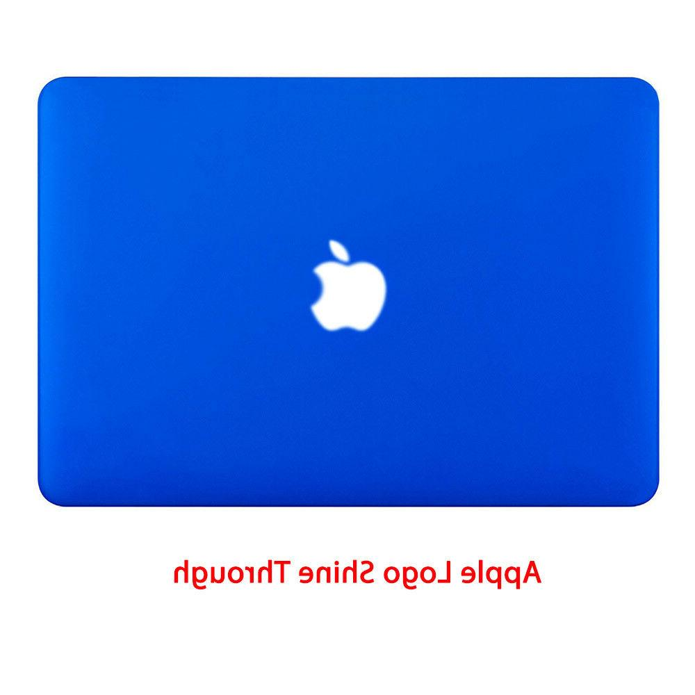Rubberized Shell for Macbook 11 13 inch + Cover