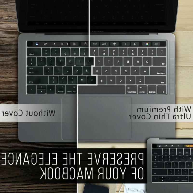Kuzy - Macbook Keyboard Cover Touch Bar | Thin Tpu For