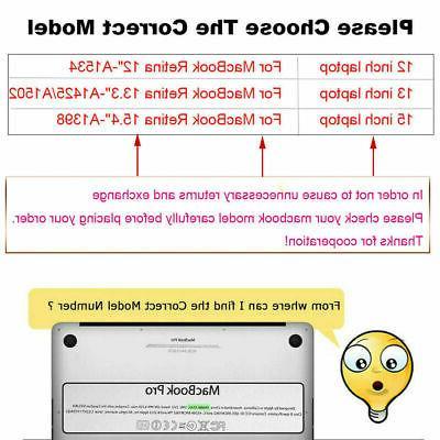 Mosiso Macbook /15 Laptop case Retina Released