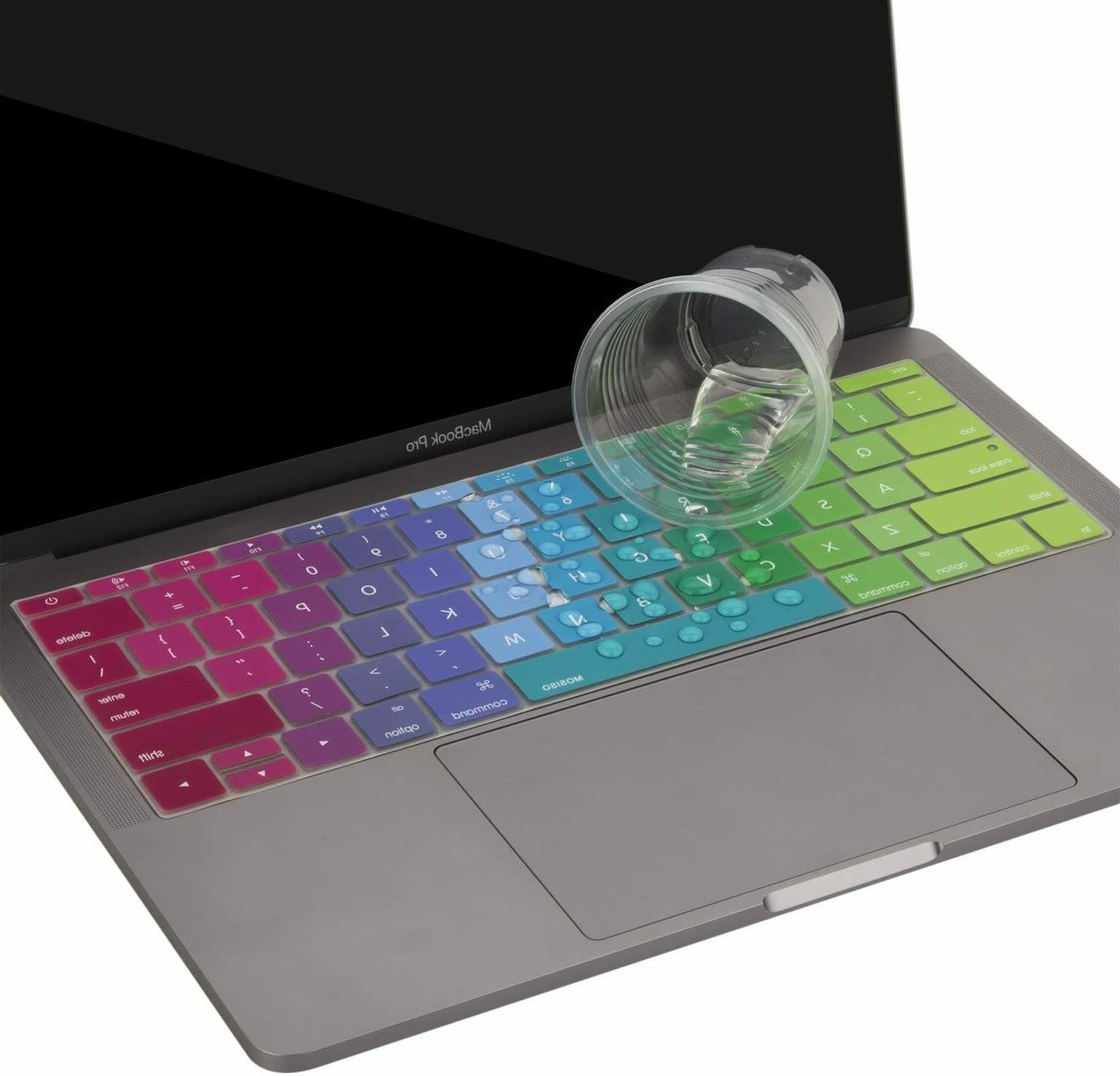MOSISO Silicone Pattern Keyboard Cover MacBook Pro