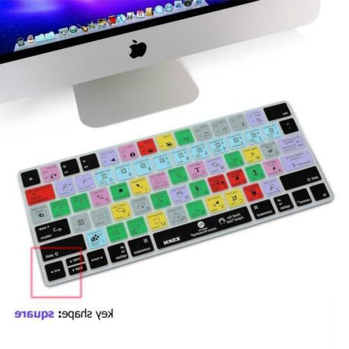 XSKN Magic Keyboard Photoshop CC Cover, PS Silicone...