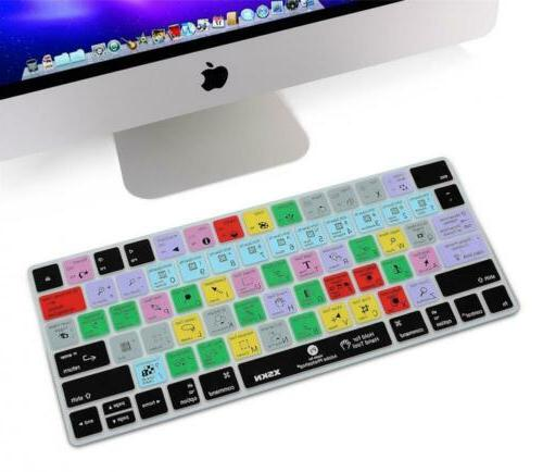 XSKN Keyboard CC Shortcut Cover,
