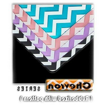 "Matte Chevron Hard Case + Keyboard Cover for Macbook Pro 13"""