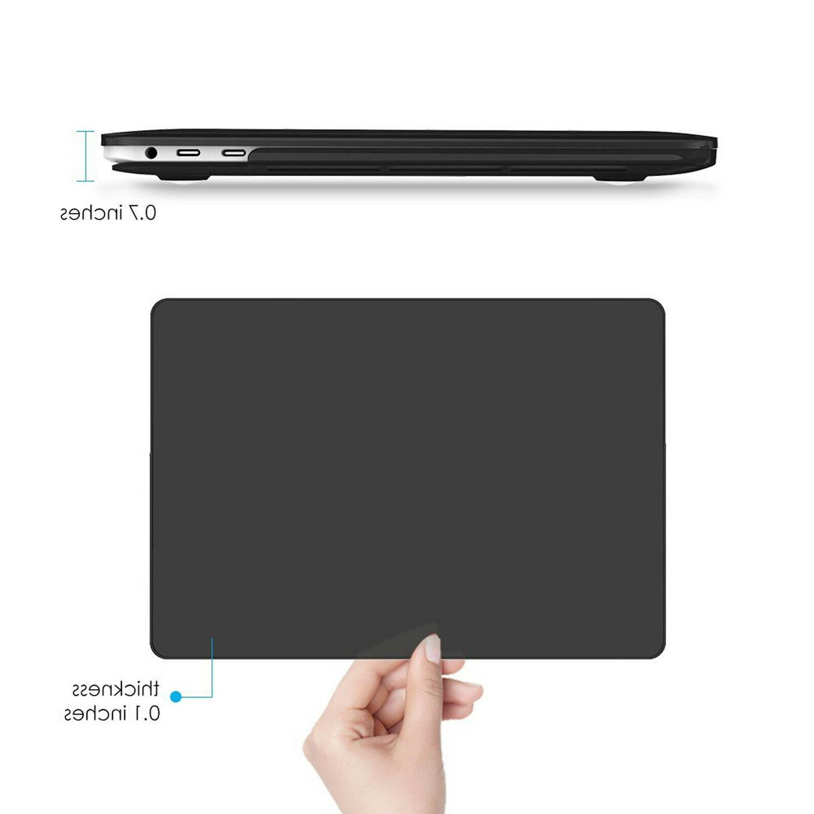 """For 2020 MacBook 13.3"""" A2179 Rubberized Case Snap Shell Cover Protector"""