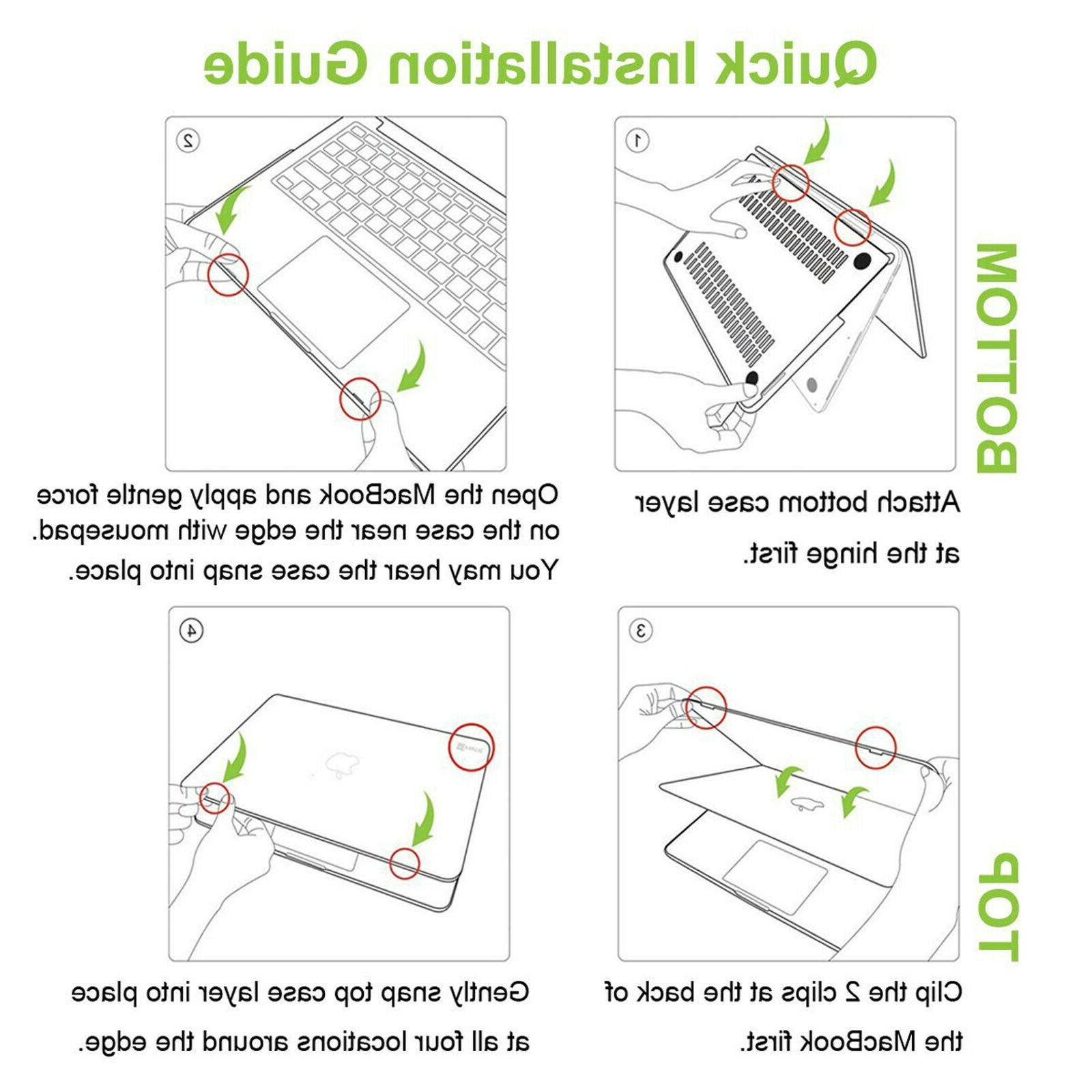 """For MacBook Air 13.3"""" A2179 Case Protector"""