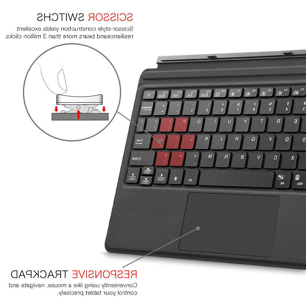 "For Microsoft Surface 10"" Type Bluetooth Keyboard Trackpad"