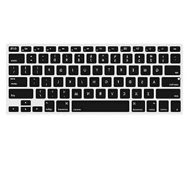 Mosiso Keyboard Cover For Macbook Pro 13 Inch, 15 Inch (With