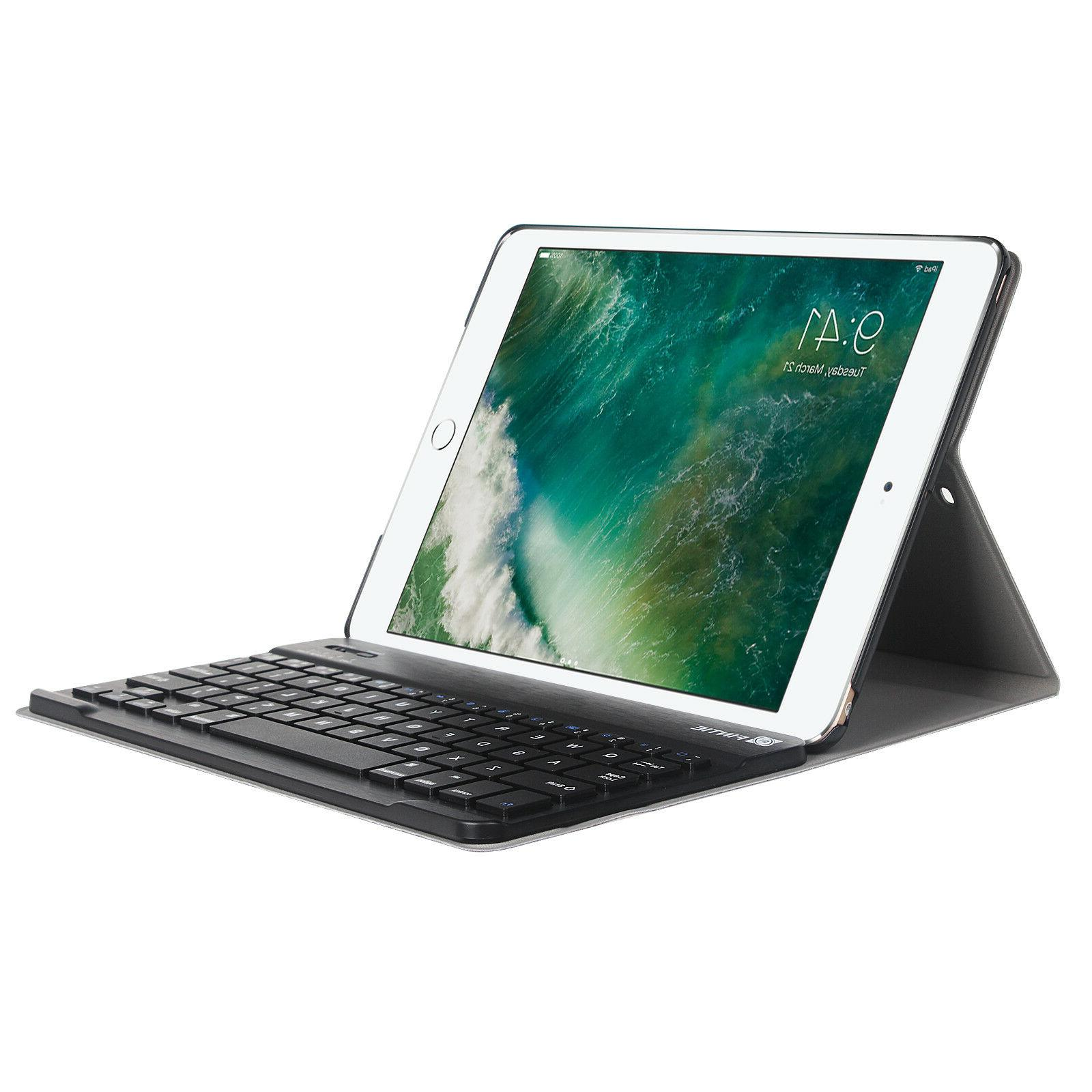For iPad 9.7 Tablet Case w/ Keyboard