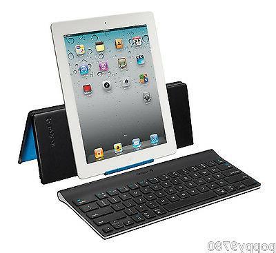 New Logitech Tablet Wireless Keyboard  iPad 1th 2 3rd 4th &