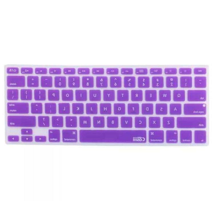 New! Casiii MacBook Pro Air Keyboard Cover Protector Silicone
