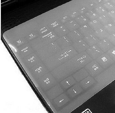 "Universal Silicone Desktop Laptop Keyboard Cover 12"" 14"""