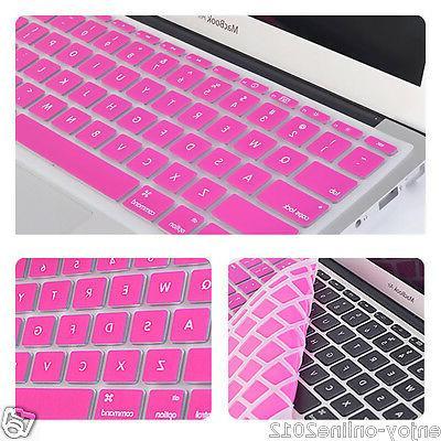 "Newly Silicone Keyboard Skin Apple Pro MAC 17"" 13"