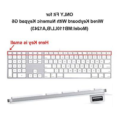 HRH Ombre Grey Silicone Keyboard for Apple Size Wired USB