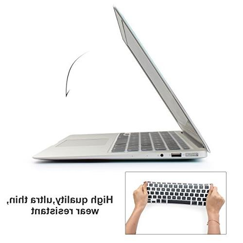 "Batianda Ombre Keyboard Cover Protector Silicone Skin for MacBook 13"" MacBook Pro 15"" 17"" - Grey"
