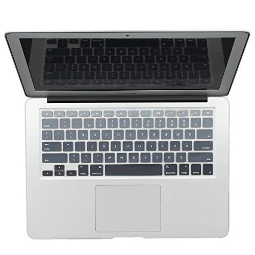 ombre keyboard cover protector silicone