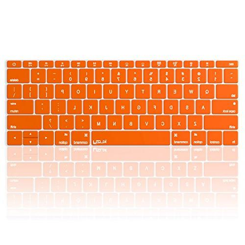 orange keyboard cover