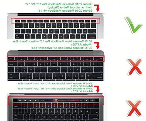 DHZ Orange Ombre Cover Skin for 2015 or Older Version MacBook 13 Pro 13
