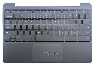 Original NEW Fit SAMSUNG Chromebook 3 US Keyboard With C Cov