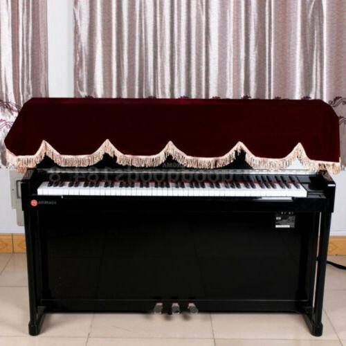Piano Keyboard Cover for 88 Keys Electronic Keyboard